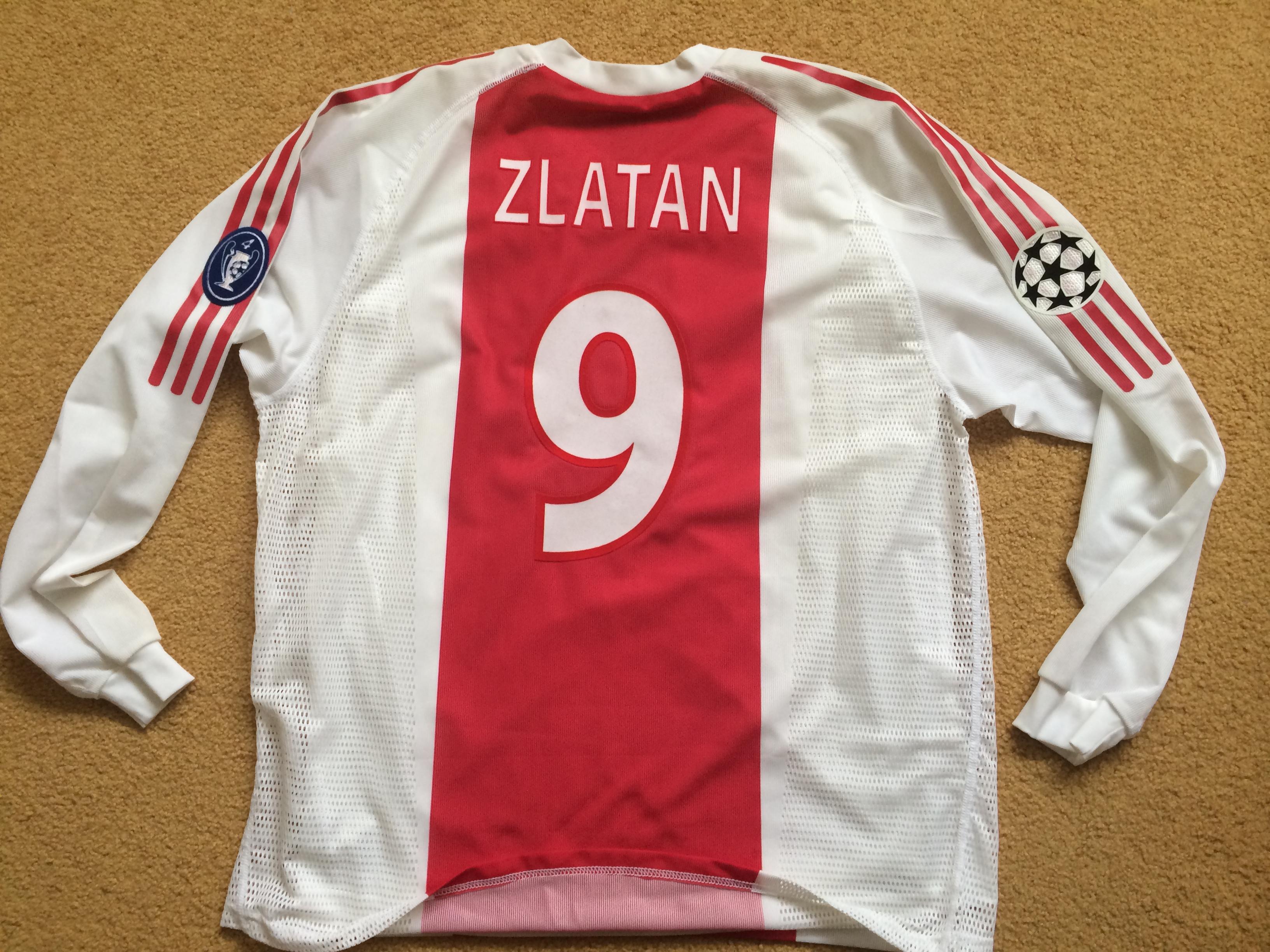quality design a11b5 e1ae8 zlatan milan jersey